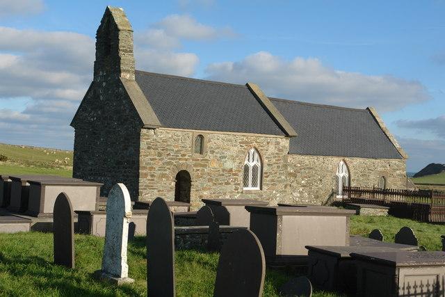 St Rhwydrus Church