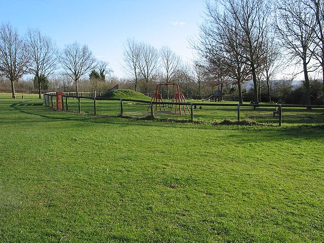 Playground near Lassington Wood