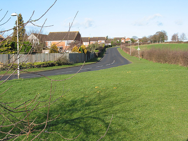 Housing estate at Highnam