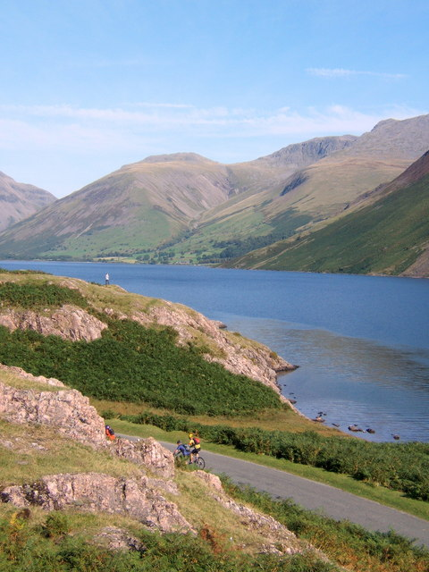 Wastwater scene in glorious conditions
