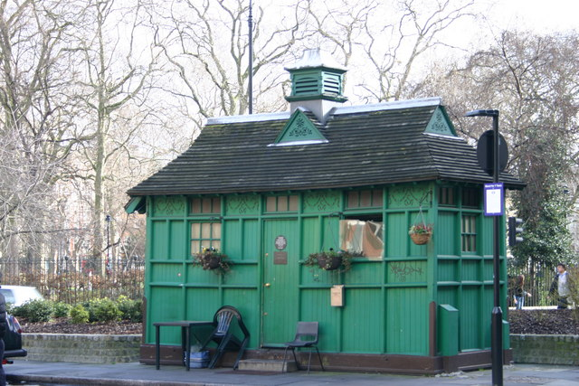 Russell Square, WC1 - Cab Drivers' Hut