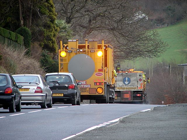 Repairing the A44 - job done!
