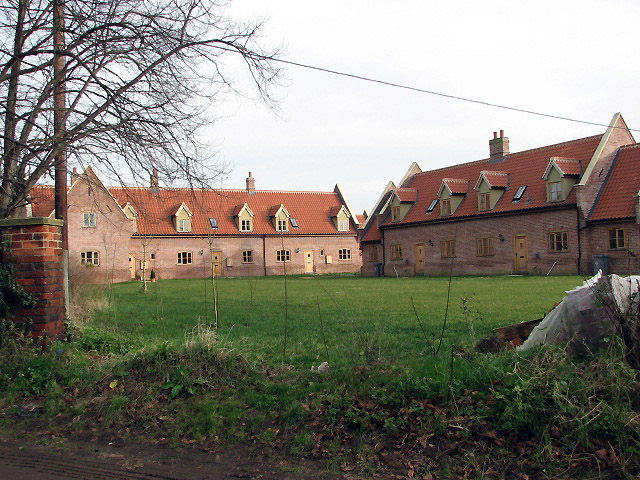 New housing near Low Common
