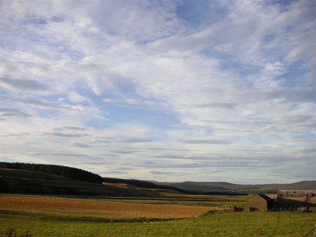 Ruthven and the valley of the Findhorn