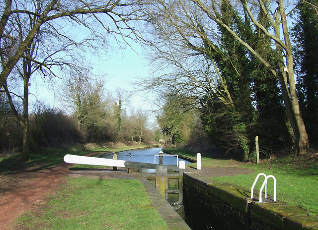 Dimmingsdale Lock, Staffordshire and Worcestershire Canal