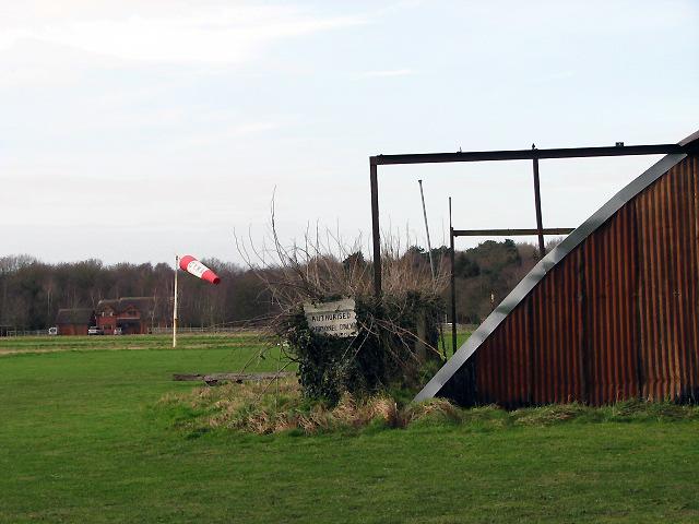 Airfield beside Taverham Road