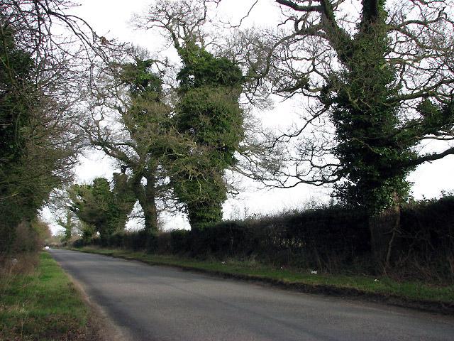 Heading north on Taverham Road