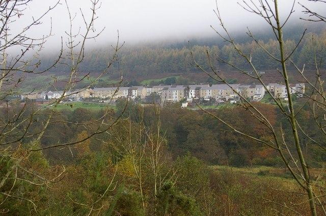 Merthyr Vale, near Merthyr Tydfil.