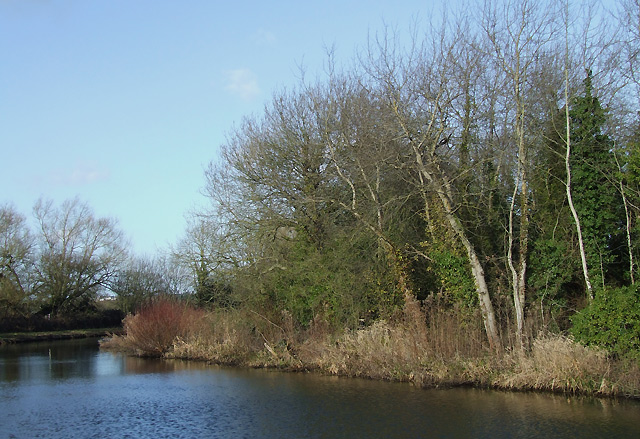 Staffordshire and Worcestershire Canal near Ebstree