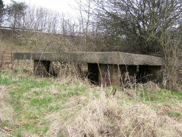 W W II Pillbox, Near M53