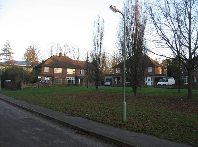 Hazelwood Close - far end