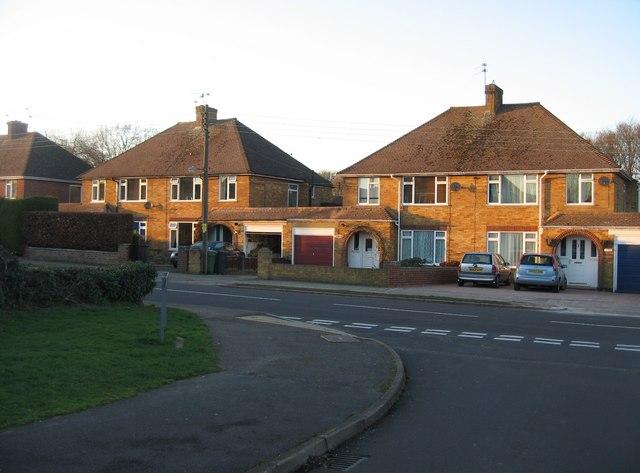 Elmwood Way housing, opposite Sycamore Way