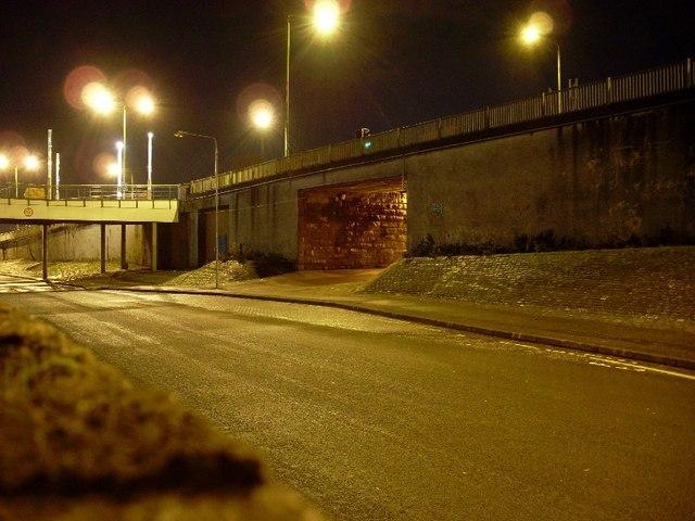 Walkway under Kilbowie Road