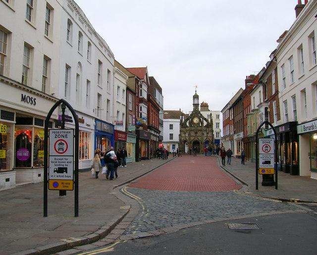 Market Cross from South Street