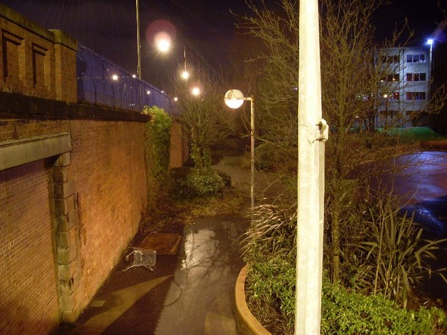 Pathway in Clydebank Business Park