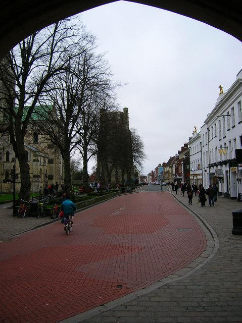 West Street from Market Cross