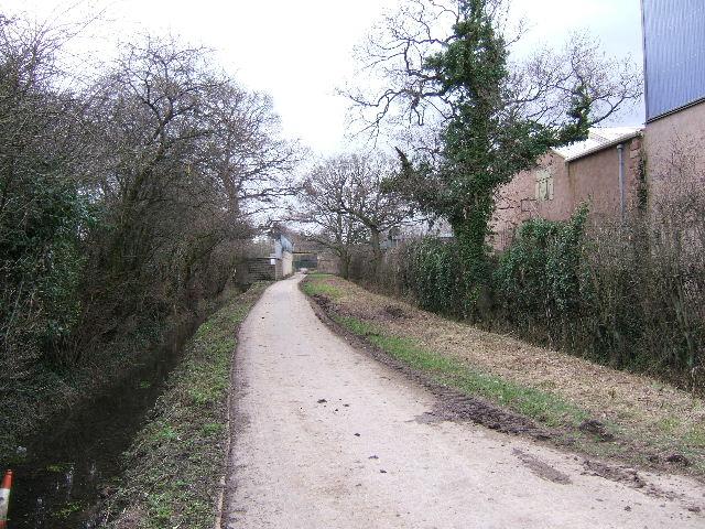 Bridleway through Chester Zoo