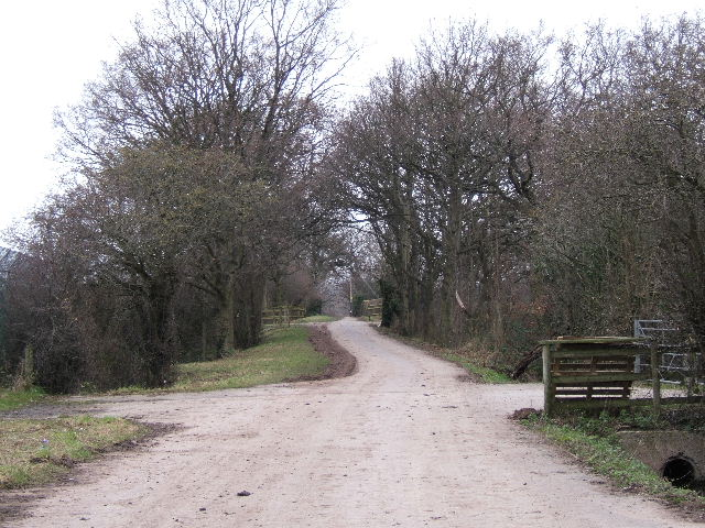 Bridleway to Caughall Road