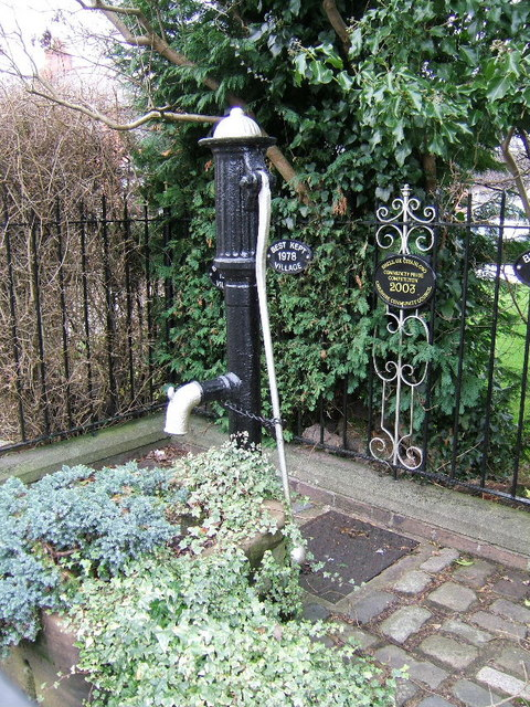 The Old Water Pump, Upton, Chester