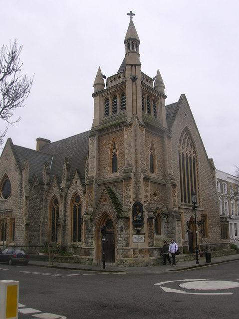St Mark's Coptic Church, Allen Street, London W8