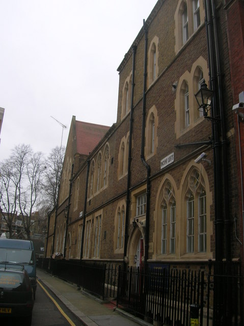 St Mary Abbots Church of England Primary School, Kensington Church Court, London W8