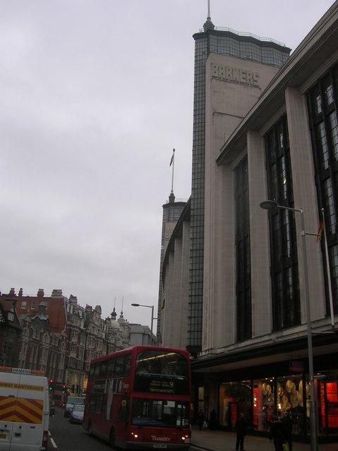 Barkers Department Store, Kensington High Street, London W8