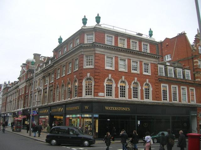 Waterstones, Kensington High Street, London W8