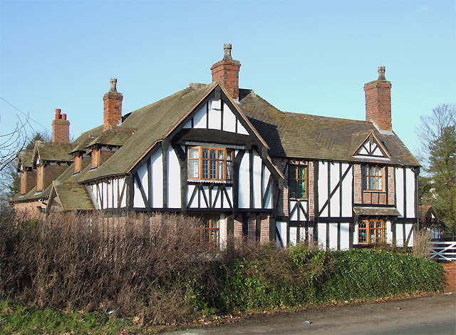 House on Tom Lane, Halfpenny Green, Staffordshire