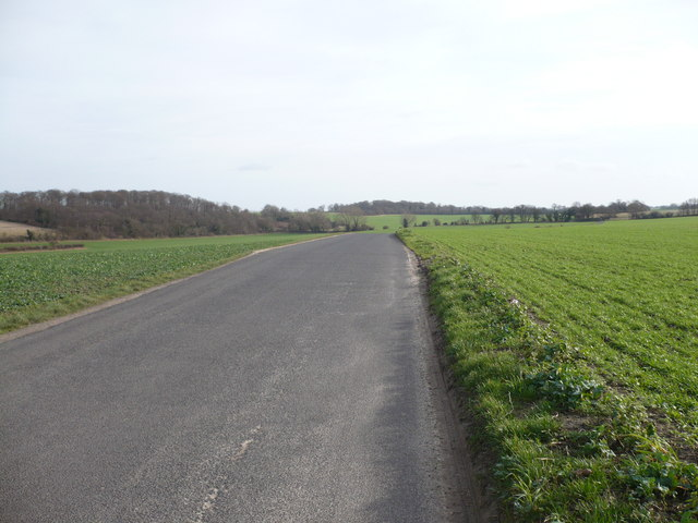Crockshard Hill, looking towards Claypits