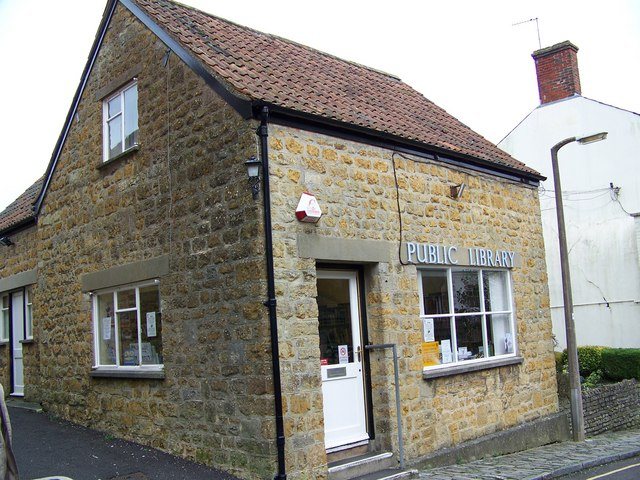 Library, Castle Cary
