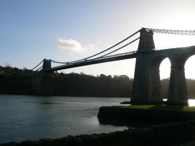 Telford's Suspension Bridge