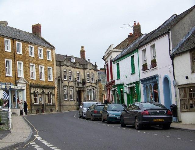 Street Scene, Castle Cary