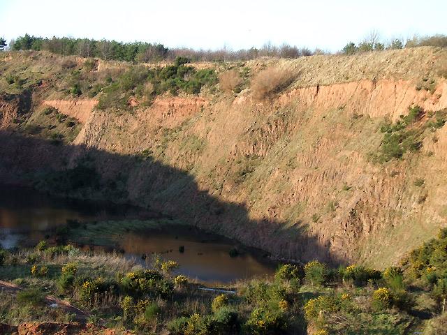 Sand Quarry near Halfpenny Green, Staffordshire