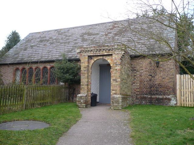 Goodnestone village hall on The Street