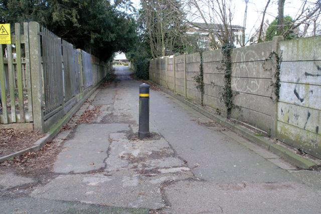 Footpath, Bramcote