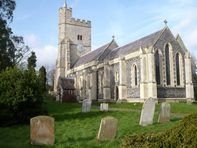 Holy Cross church, Goodnestone