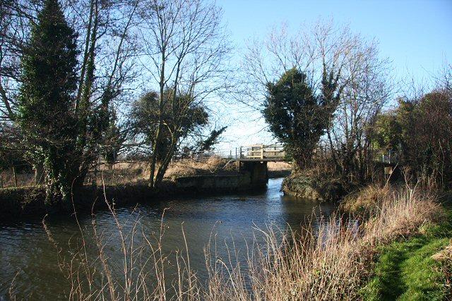 River Lark at Farthing Bridge