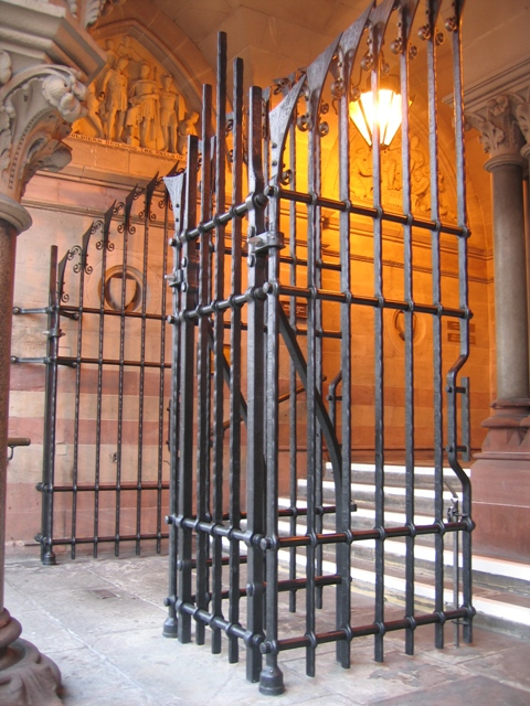 Chester Town Hall - Lord Mayoralty Gates