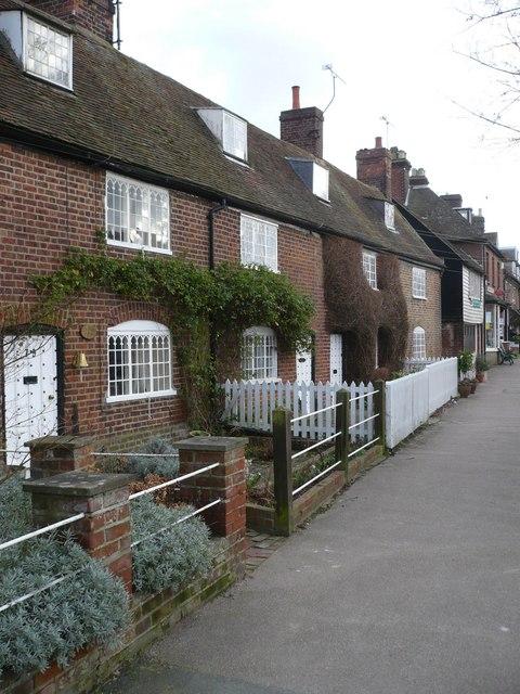 High Street cottages, Wingham