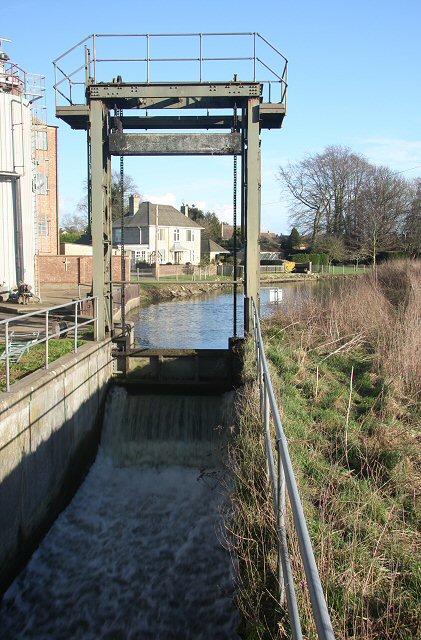 Icklingham Mill Lock
