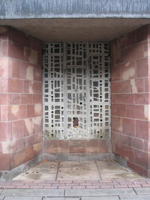 Addleshaw Tower window