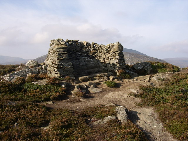 Summit of Creag Bheag