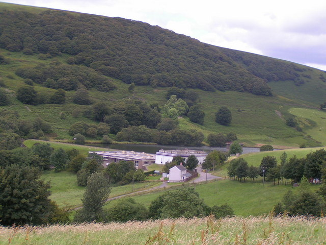 Water Works in Cwmtillery