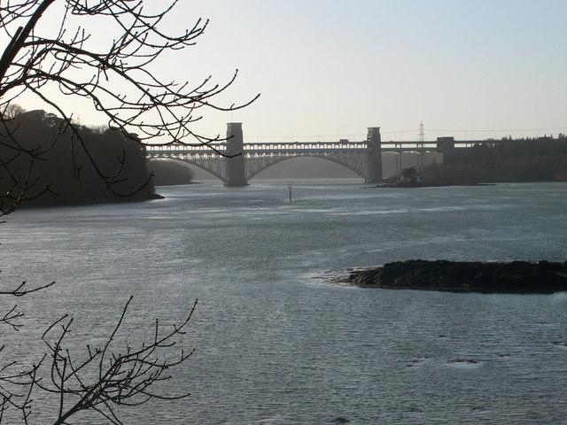 Pont Britannia Bridge