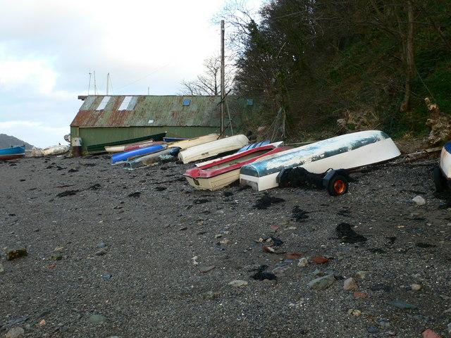 Boats, Garth Beach
