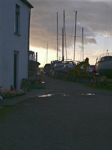Boatyard, Garth