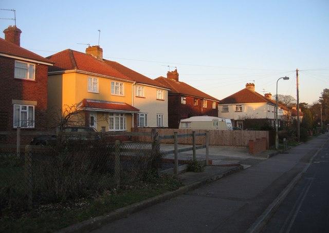 Merton Road housing