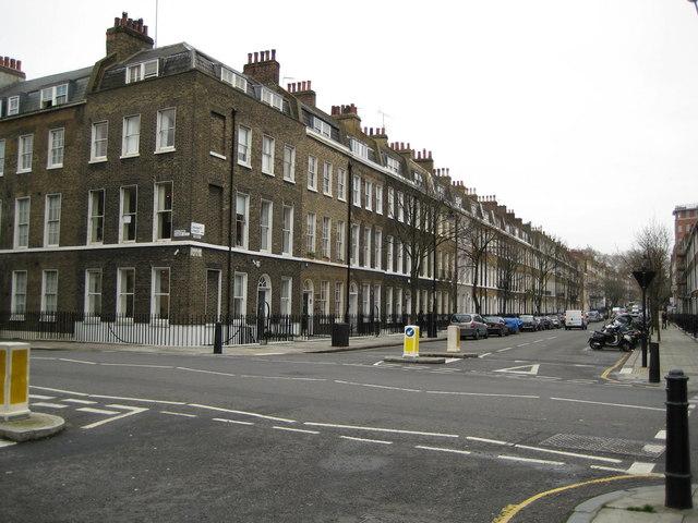 Bloomsbury: Doughty Street, WC1