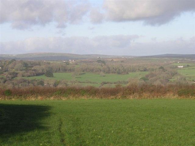 Farmland near Tredavoe