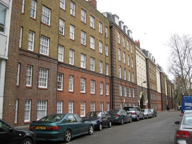 Holborn: Portpool Lane, Bourne Estate, EC1